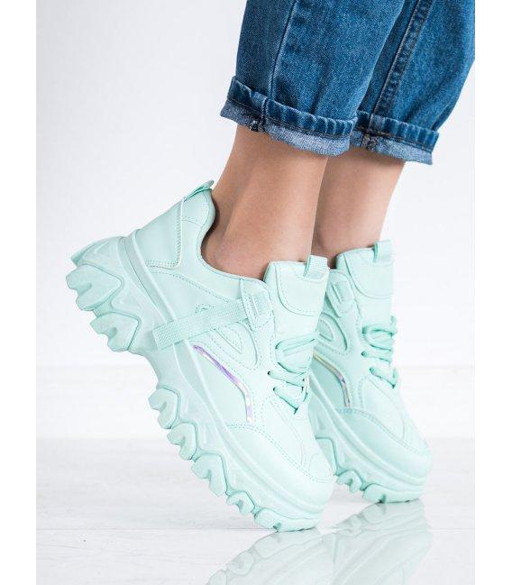 Mentolové sneakersy Fashion