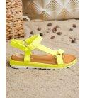 Módne sandálky na suchý zips