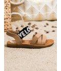 Sandálky z eko kože Love