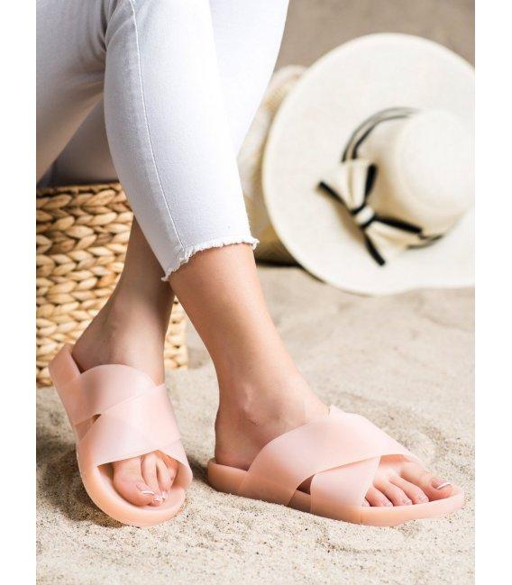 Módne gumové šľapky