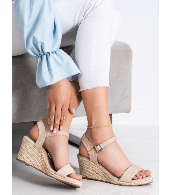 Klasické sandálky na kline Vinceza