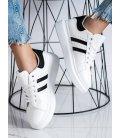 Klasické sneakersy s pruhmi
