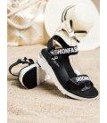 Kožené sandálky Fashion