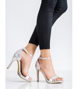Klasické sandále na podpätku