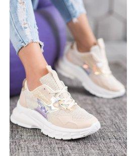 Modné sneakersy so sieťkou