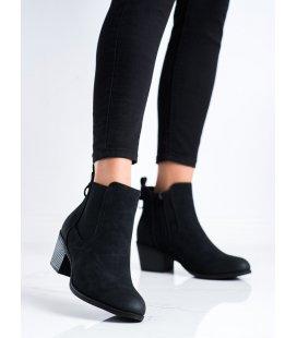 Pohodlné členkové topánky na nízkom stĺpci