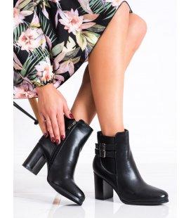 Členkové topánky s ozdobnou prackou