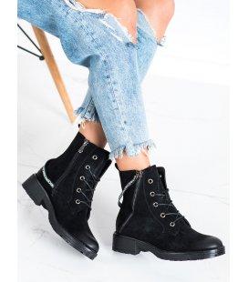 Členkové topánky s ozdobou
