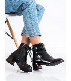 Elegantné kotníkové topánky na zips