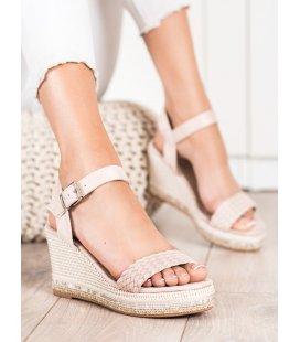 Pletené sandálky na kline