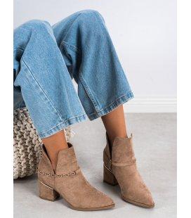 Elegantné topánky s retiazkou