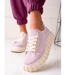 Semišové sneakersy na platforme